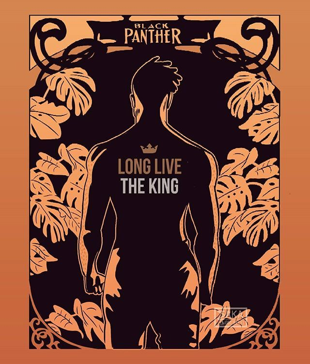 Reposting Lemoncielart Long Live The King Fanart Fan Illustration Illustrator Draw Drawing Design Arti Black Panther Art Panther Art Book Art