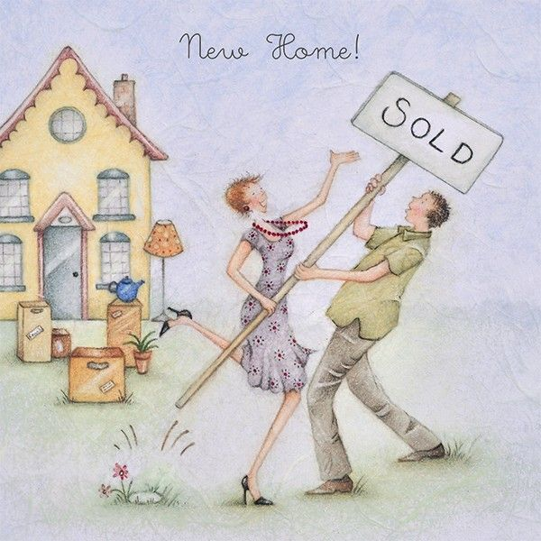 Cards » New Home » New Home - Berni Parker Designs