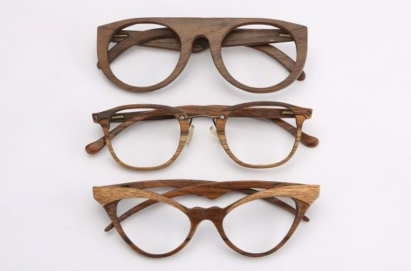 sayon a fine collection of wood frame glasses from new delhi india accoutrementsaccessories if you will pinterest rimless frames eyewear and - Wood Frame Sunglasses