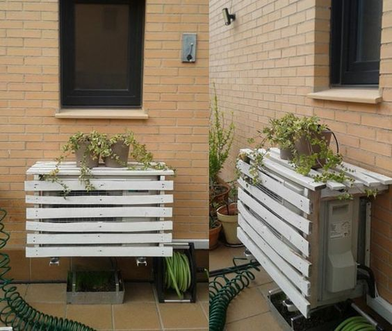 Here S An Easy To Do Cover For Your Outdoor Ductless Unit