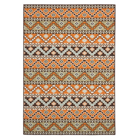 Covina Indoor/Outdoor Rug in Terracotta - Spring Rugs Under $300 on Joss and Main