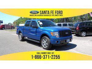 2014 Blue Ford F-150 STX 36160R
