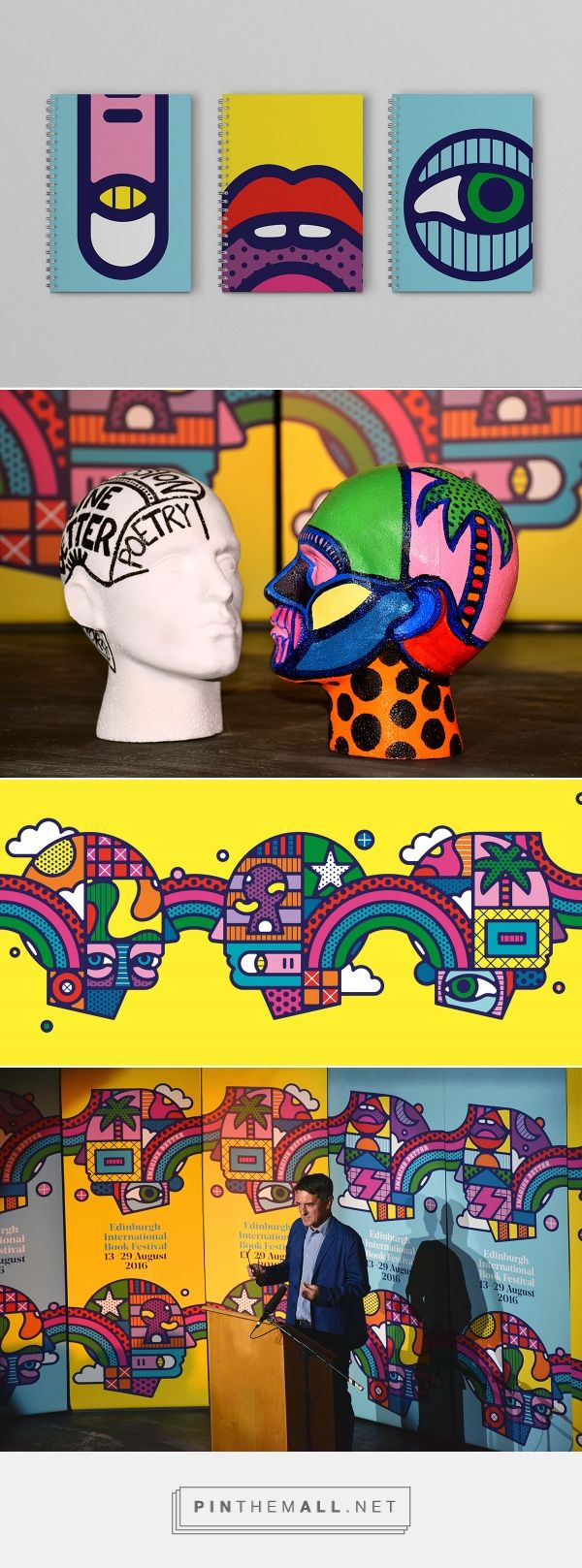 Craig & Karl and Tangent's psychedelic identity for Edinburgh International Book Festival - Creative Review  https://www.creativereview.co.uk/craig-karl-and-tangents-psychedelic-identity-for-edinburgh-international-book-festival - created via https://pinthemall.net