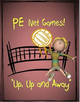 """PE Net Games! - """"Up, Up and Away"""""""