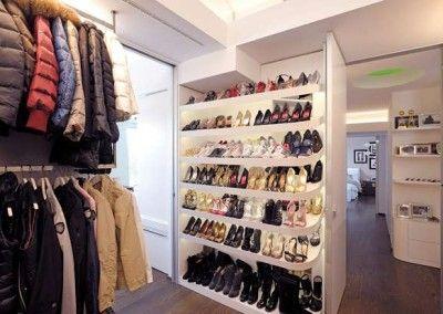 La cabina armadio di Antonella Clerici