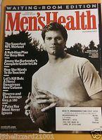 Men's Health Magazine New England Patriots Tom Brady October 2003 FREE SHIPPING