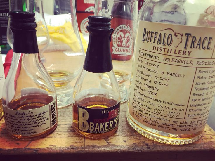 Booker's and Baker's are good but you better like your drinks spicy! #bourbon whiskey Http://www.IWantToTaste.com