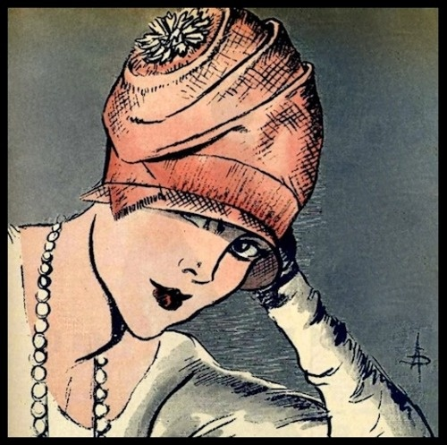 L'Art et la Mode (cover detail) - March 5, 1927 (A. Soulié)