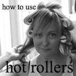 how to hot roller your hair - hollywood housewife