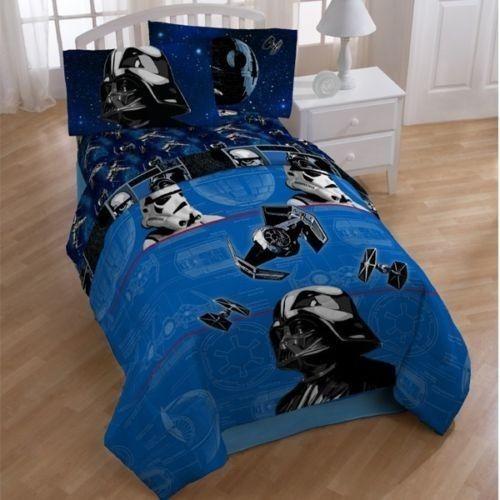 Star Wars Darth Vader Full Double Bed Comforter Blanket