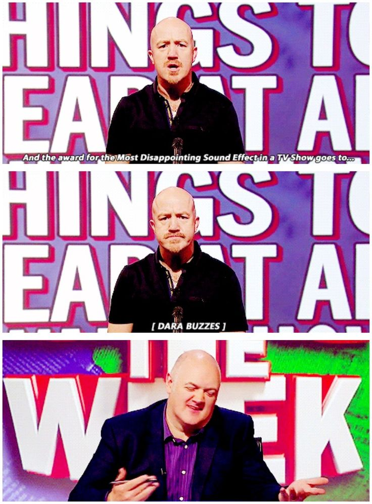 Unlikely things to hear at an awards show | Andy Parsons | Mock the Week