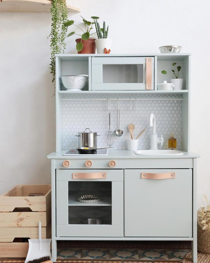 Do you own Ikea's Duktig — the kid's play kitchen? If so ...