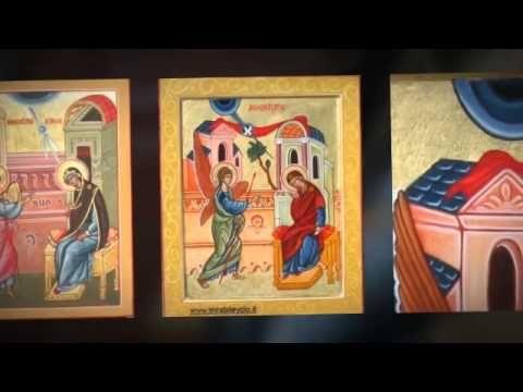 1°Mistero gaudioso: l'icona dell'Annunciazione