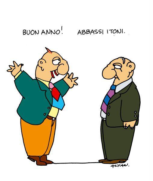 Alcune vignette di Altan del 2012