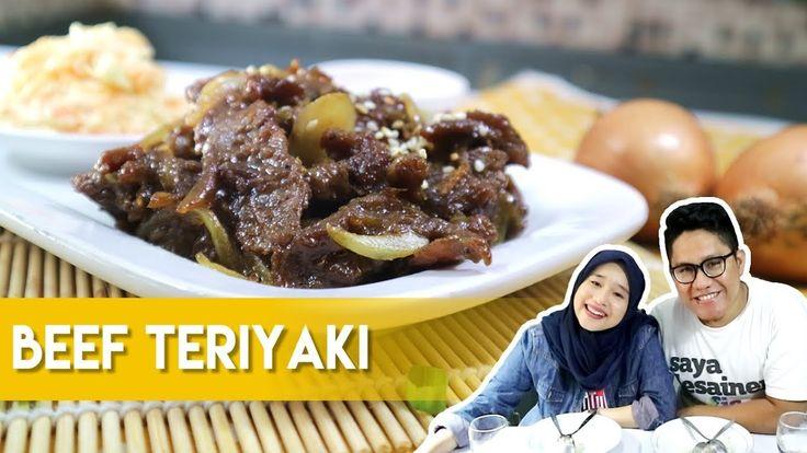 Resep dan Cara Membuat Beef Teriyaki Hokben ala Dapur Adis