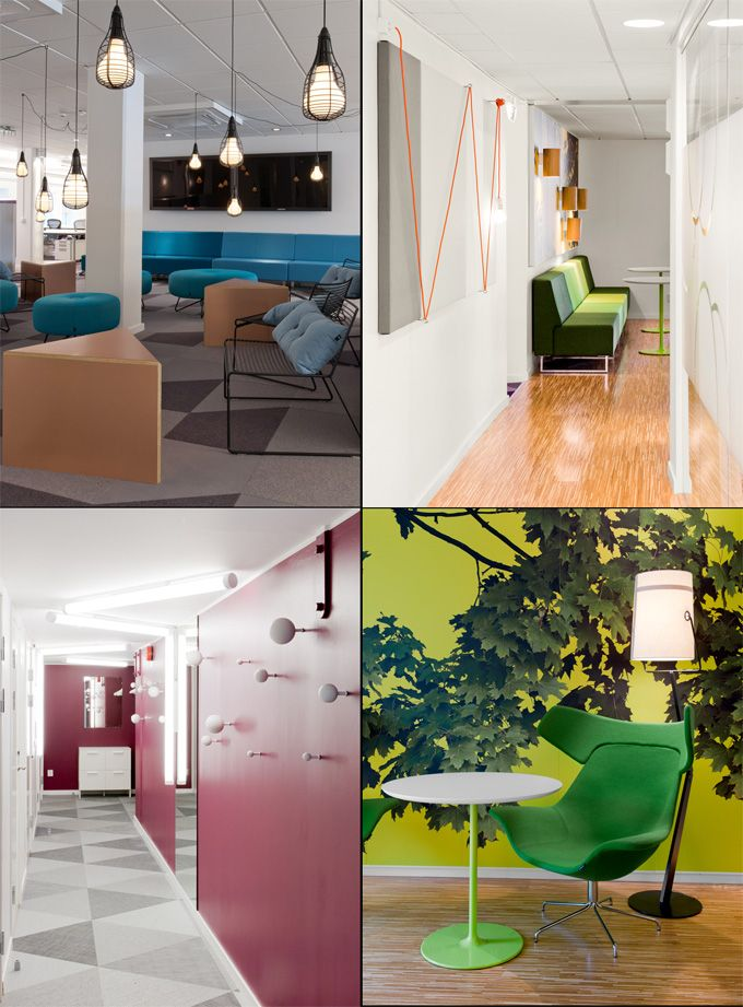great office design world best office interiors skype sweden more breakout great office design the worlds - Office Interior Design Ideas