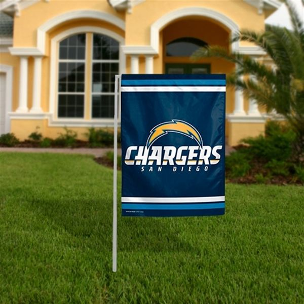 San Diego Chargers WinCraft Garden Flag