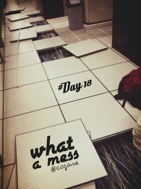 #30DaysChallenge Day 18: What A Mess! by @Yoshie Ikebe Adi