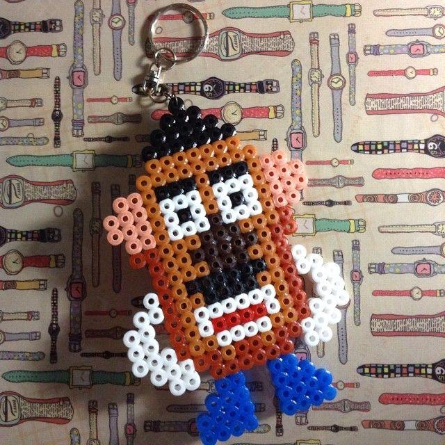 Mr Potato hama beads by thalshamabeads