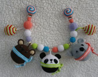 Crochet rattle by Mezglinsh on Etsy