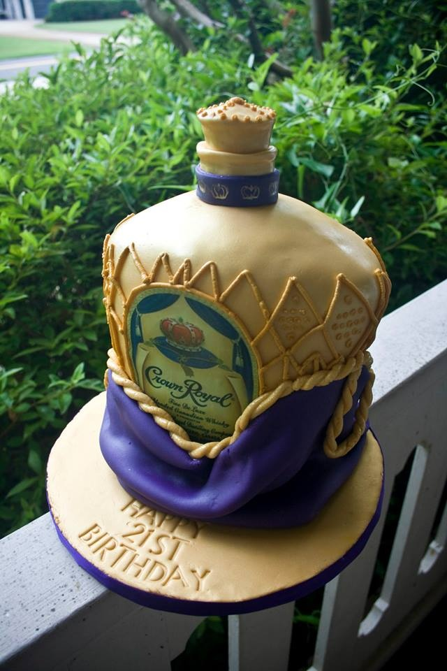 Crown Royal Apple Cake