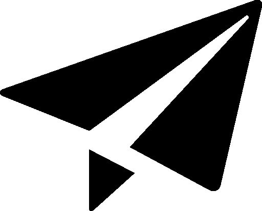 Paper airplane vector icon - Other icons - Icons Download