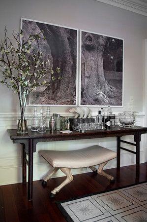Wohnzimmer Wandfarben, Wohnzimmer Wände, Wohnräume, White Bäume,  Schwarz Weiß Baum, Minibar, Bar Areas, Bar Set, Home Ideas
