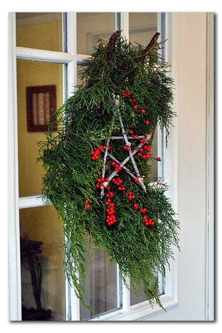Rustic Star Tutorial Greenery Christmas Winter Rustic Wood Twigs DIY Crafty