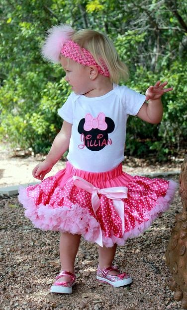 Minnie Mouse Birthday Outtfit -