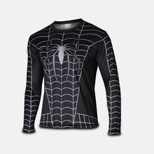 spiderman cycling jersey black spiderman costume quick dry cosplay costume t shirt full sleeve tee black spiderman costume //Price: $US $27.89 & FREE Shipping //     #tshirtdesign