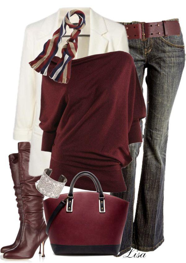 Cute winter outfit - love, love, love!