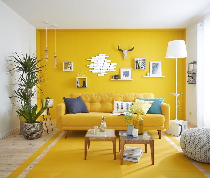 Yellow Wall Yellow Walls Living Room Yellow Decor Living Room Yellow Bedroom Decor