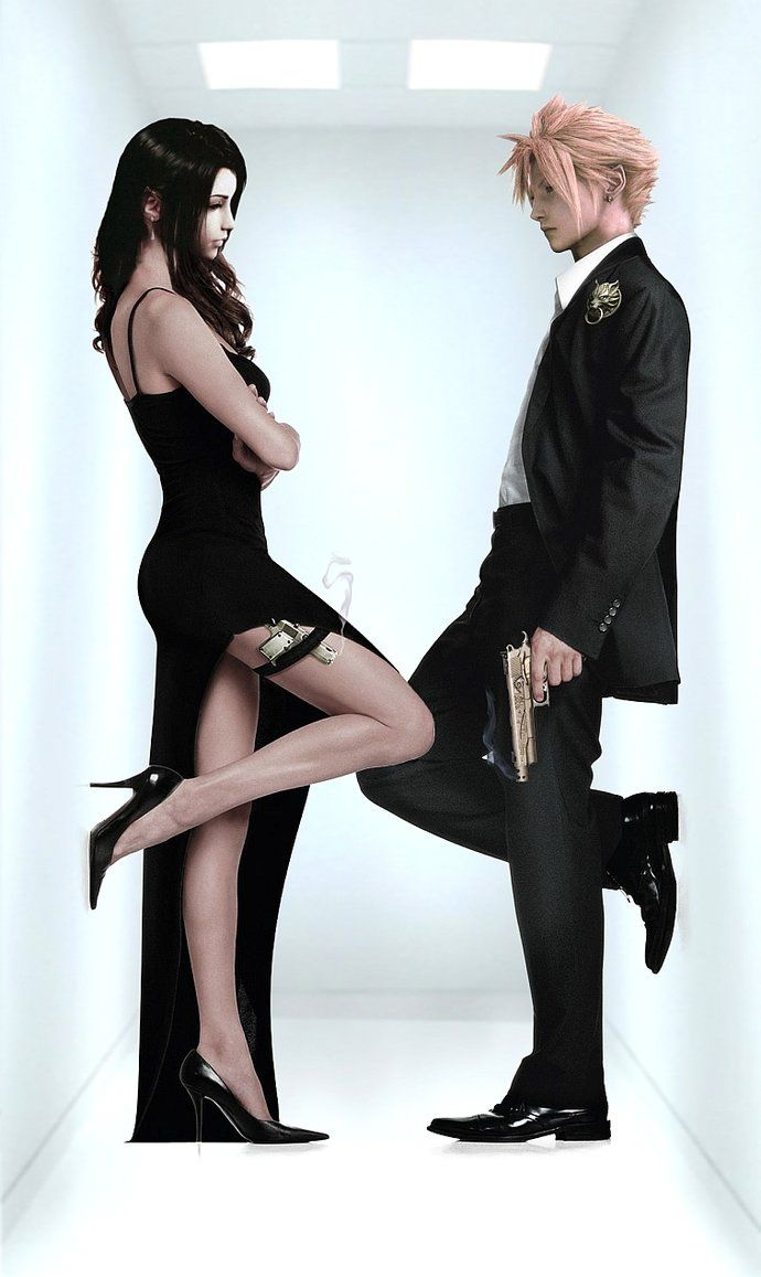FF meets Mr-and-Mrs-Smith by Vynthallas on DeviantArt
