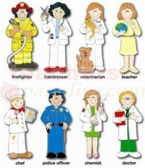 new miniature printables | Bulletin Board Set Community Helpers from http://TeachersParadise.com ...