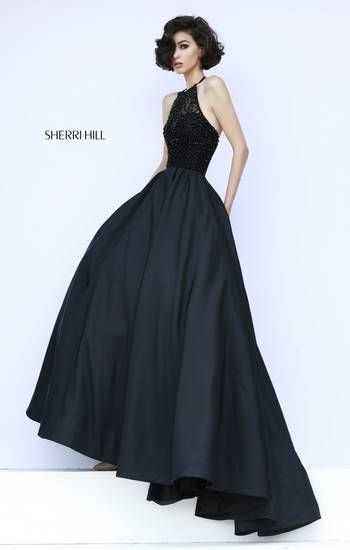 A great simple black timeless dress. You could go all out in the: Shoes, handbag or jewelry :)