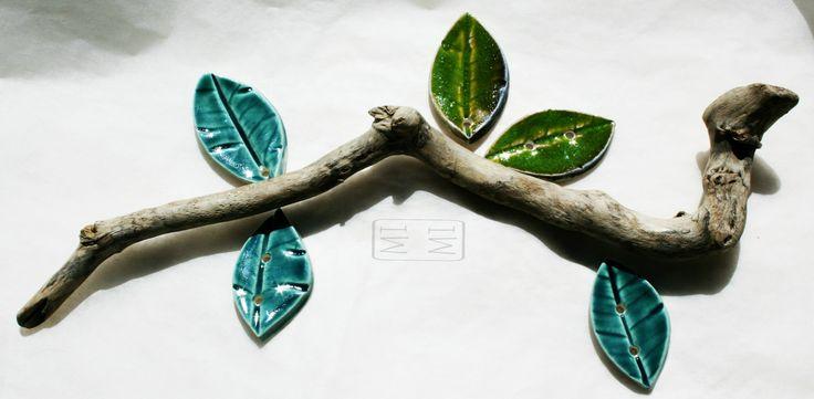 foglioline in ceramica di Concreta, composizione e scatto di Mimisoap