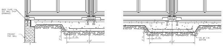 Shipping Container Home - RSCP - Foundation Drawing