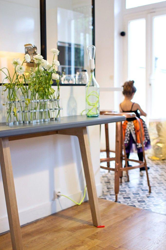 111 best Incrustation carrelage dans un parquet images on Pinterest - deco maison cuisine ouverte