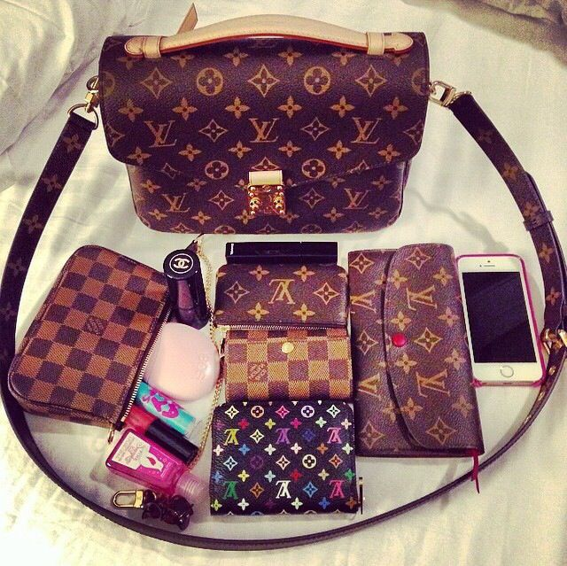 Lvlovercc Louis Vuitton what's in my bag?