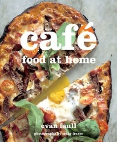 "If you love Knead in Muizenberg you're not going to want to miss their latest offering ""Café food at Home"".  Penned by Evan Faull, this gem entices you to prepare real, unfussy, make-at-home, delicious food. And if you've been wanting to learn the secrets to making your own bread, Evan takes the mystery out of artisan baking with a practical, no-frills guide to the bread baking process. R220"