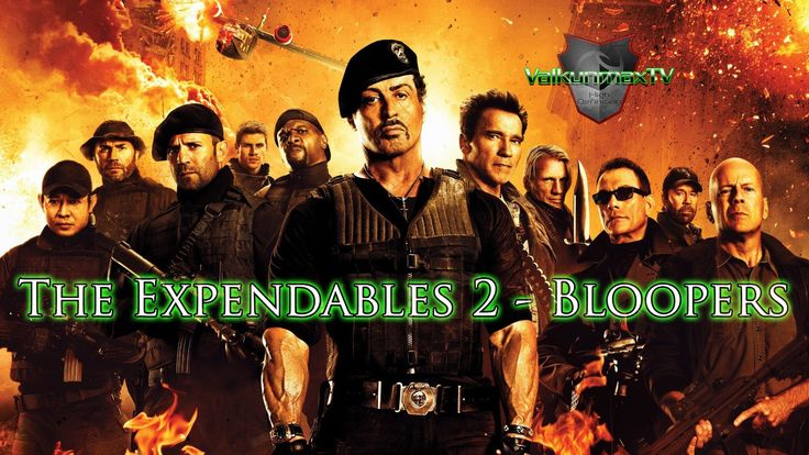 The Expendables 2 - Bloopers
