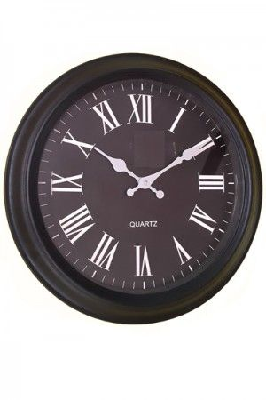 Simple Quartz Wall Clock  www.fashiongroop.com