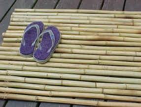 147 best bamboo ideas images on pinterest bamboo ideas bamboo diy a bamboo mat solutioingenieria Choice Image