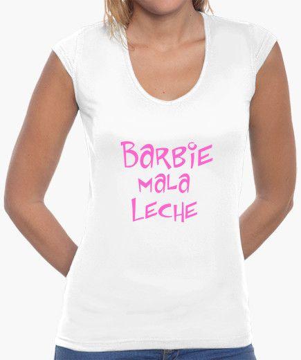 Camiseta Barbie mala leche