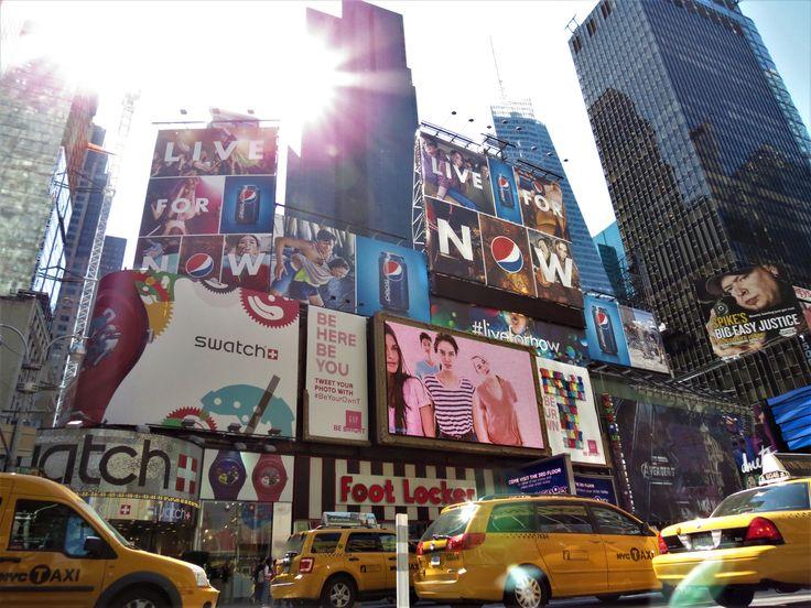 Times Square (photo personnelle)