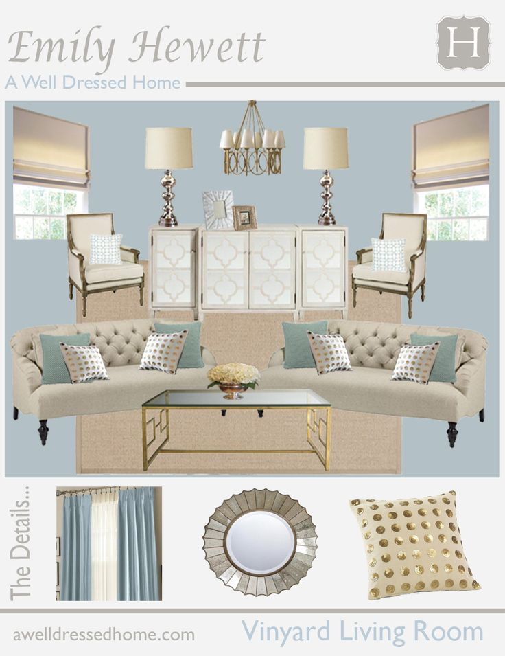 Vinyard living room a well dressed 963 1250 for Living room quiz pinterest