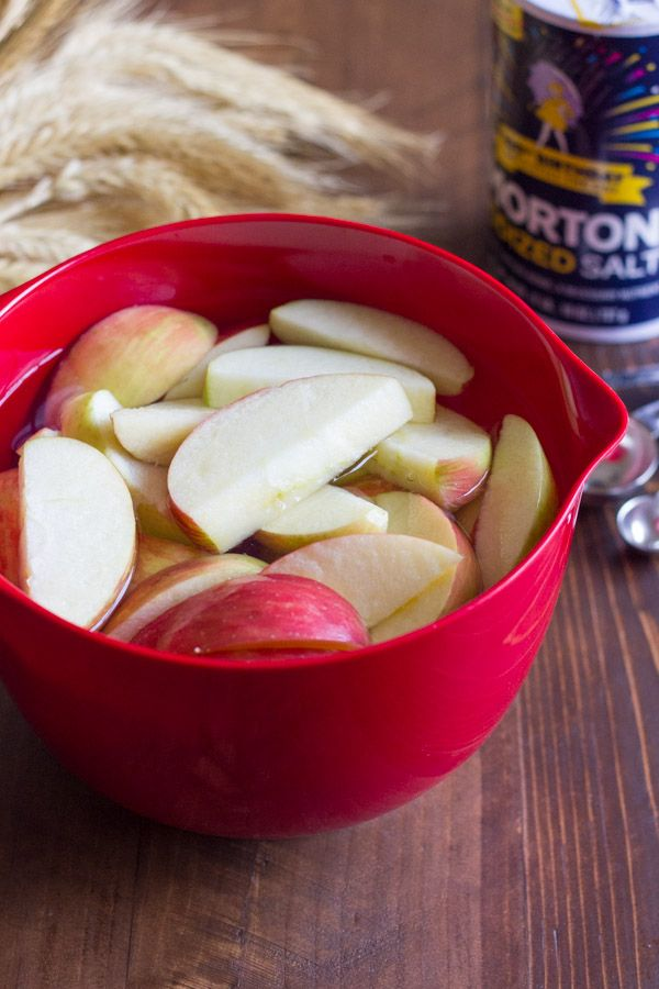 how to keep fresh apple slices from turning brown