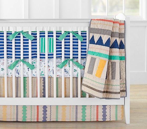 Margherita Missoni Petal Desk Chair: Margherita Missoni Linen Patchwork Baby Bedding
