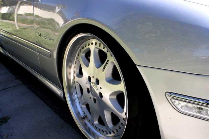 Mercedes Benz CL55 AMG W215 Brabus Monoblock III 03