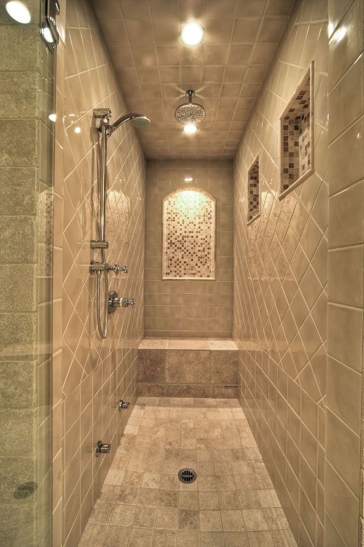 Steam shower master bathroom pinterest for Bathroom ideas shower only